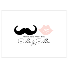 Mr. and Mrs. Mustache