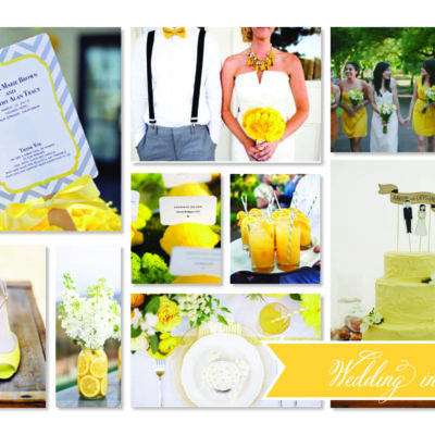 Fancy a Colour… wedding in yellow