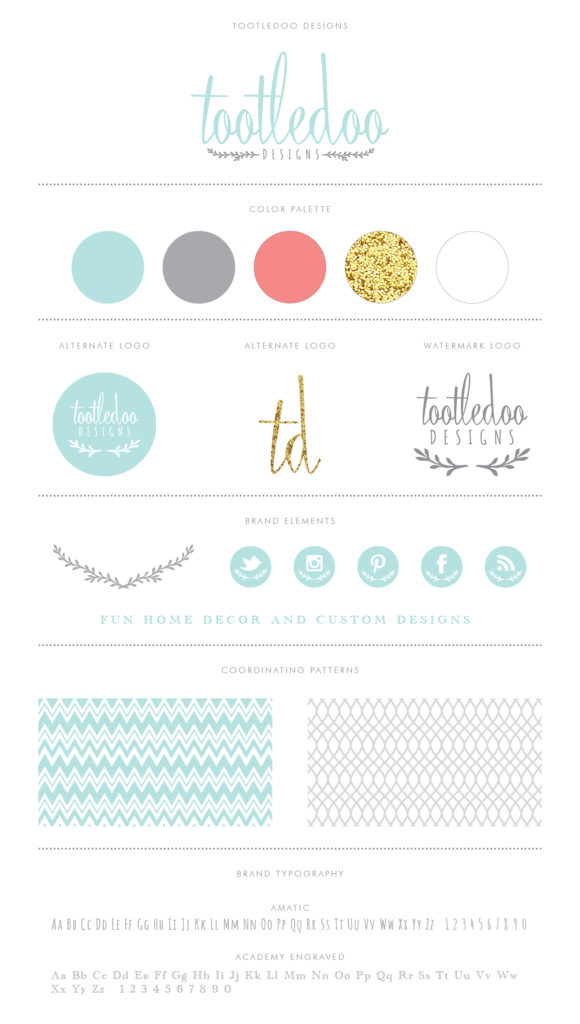 Tootledoo Designs - Brand Identity