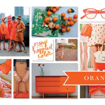 Fancy a Colour… Orange is the Happiest Color