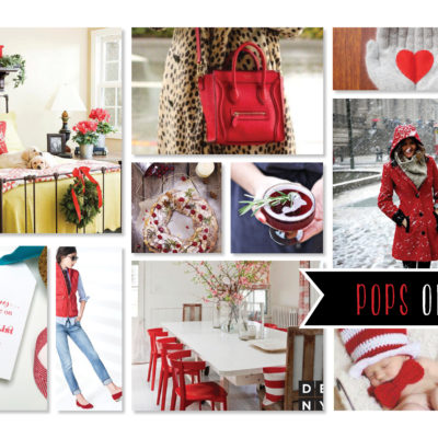 Fancy a Colour… POPS of Red