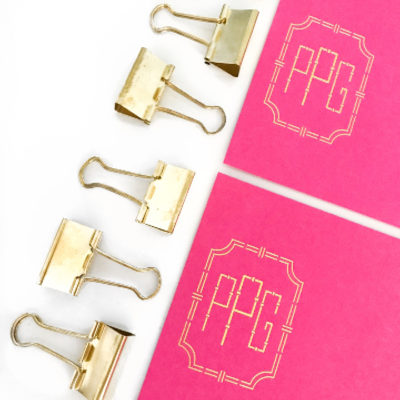 Signature Monogram Stationery