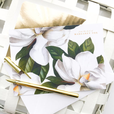Oh My Magnolia Stationery
