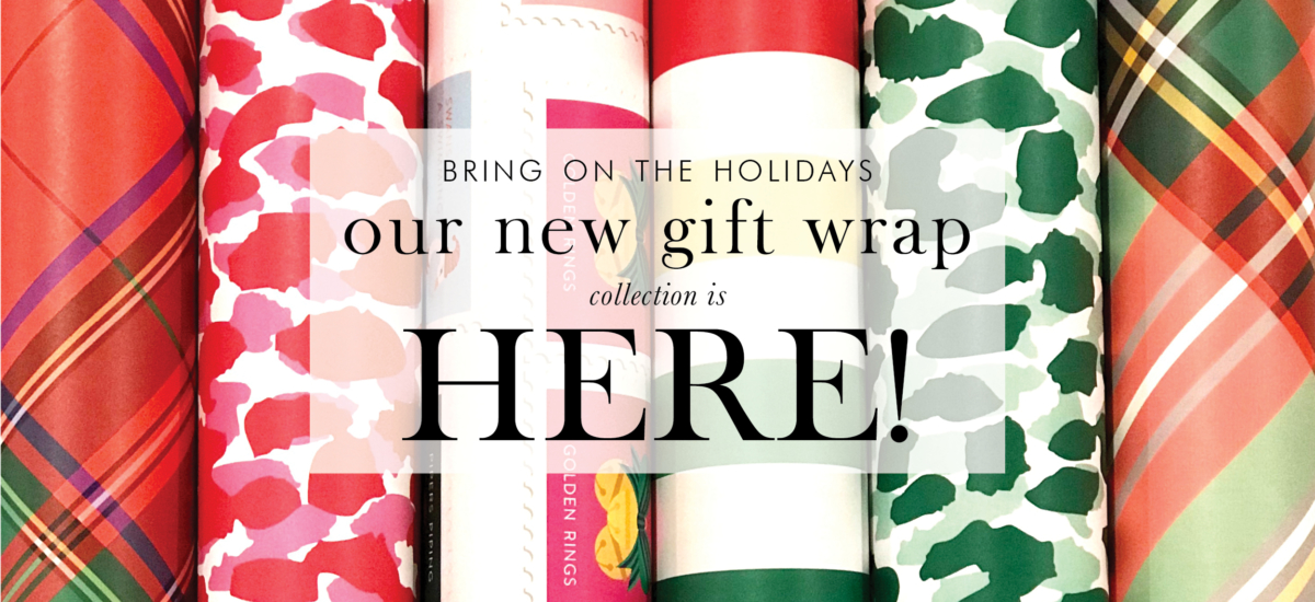 ACD Holiday Gift Wrap, Leopard Print Gift Wrap, Tartan Gift Wrap