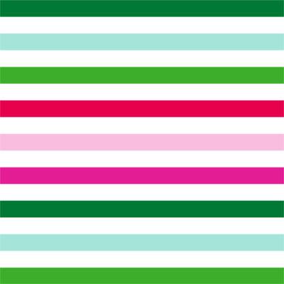 Ho Ho Holiday Stripe Gift Wrap